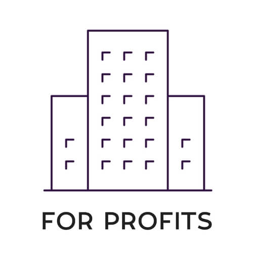 FOR PROFITS icon