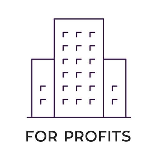 FOR PROFITS icon