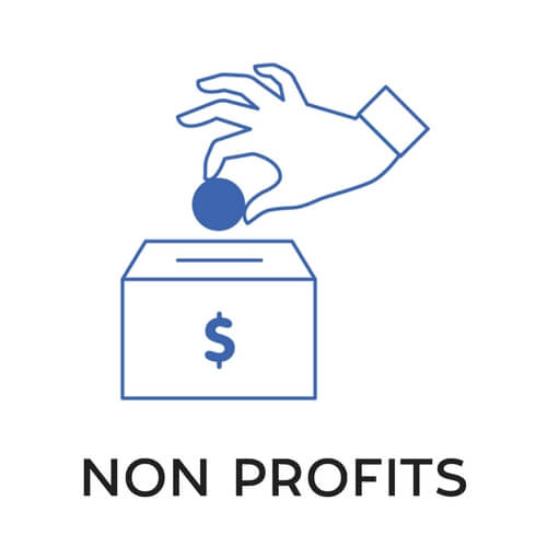 NON PROFITS icon